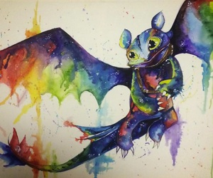 dragon and toothless image