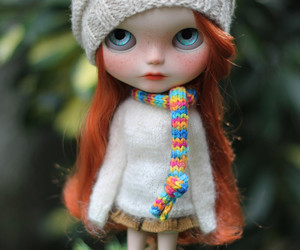 blythe, redhair, and tricot image