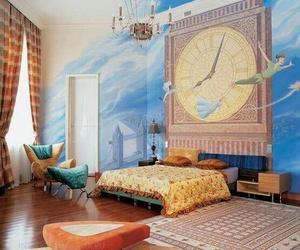 bedroom, peter pan, and disney image