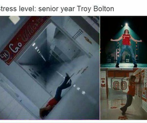 high school musical, HSM, and musical image