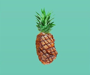 pineapple and steak image