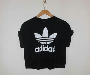 adidas, black, and shirt image