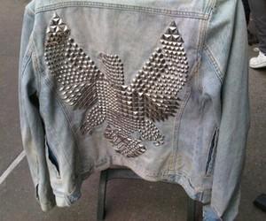 fashion, studs, and jacket image