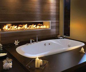 bathroom, luxury, and bath image