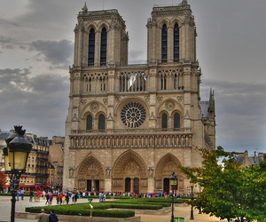 europe, france, and notre dame image