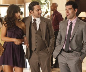 schmidt, jess, and new girl image