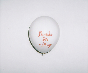 thanks, balloons, and nothing image