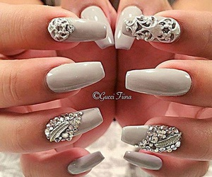 nails and woman image