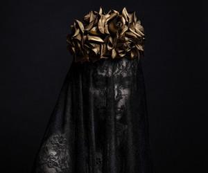 black, dark, and gold image