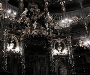 architecture, dark, and design image