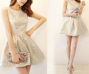 dress, dresses, and party dress image