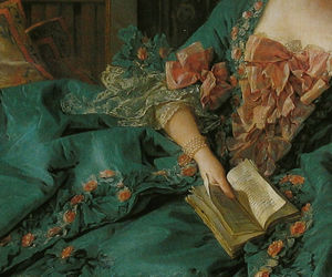 baroque, decolletage, and francois boucher image