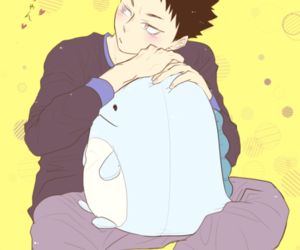 anime, iwaizumi, and anime boy image