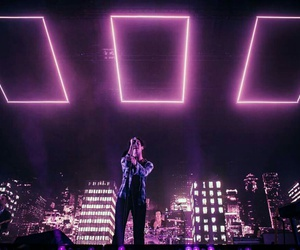 the 1975, glow, and purple image