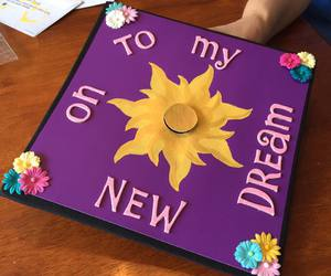 disney, graduation, and tangled image