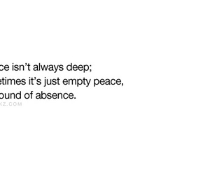 absence, deep, and emptiness image