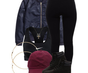 bag, clothes, and girl image