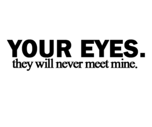 mine, unrequited love, and your eyes image