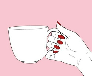pink, red, and cup image