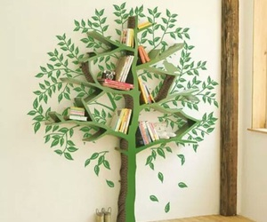 tree, book, and design image