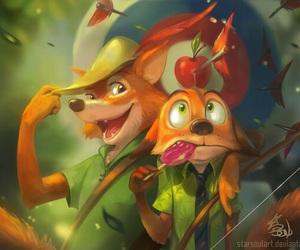 art, fox, and zootopia image