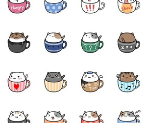 cat, kawaii, and VIP image