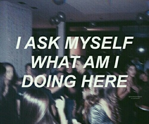 quotes, grunge, and here image
