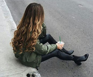 hair, style, and outfit image