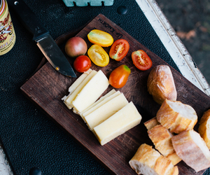 cheese, food, and tomato image
