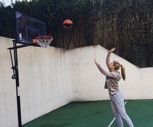 Basketball, fashion, and girl image