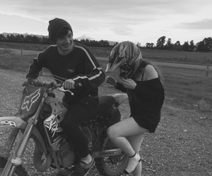 couples, goals, and motorbike image