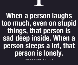 lonely, psychology, and quotes image
