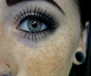eyes, piercing, and eye image