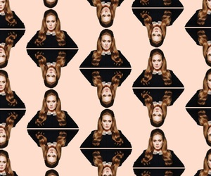 Adele, wallpaper, and throwback image