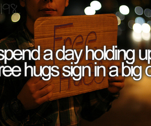 hug, big city, and before i die image