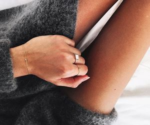 bracelet, fashion, and knit image