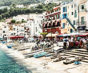 beach, italy, and travel image