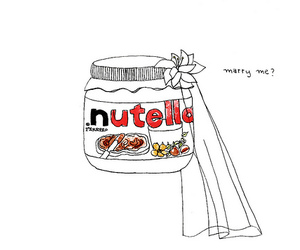 nutella, food, and marry image