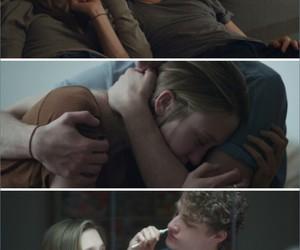 couple, hug, and movie image
