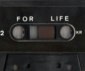 music, tape, and life image