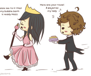 one direction, Harry Styles, and princess image