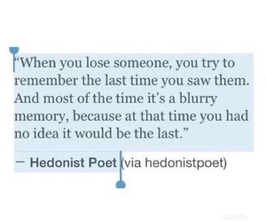 quotes, sad, and memories image