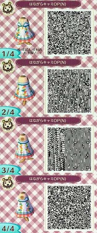 26 Images About Acnl Qr Codes On We Heart It See More About Animal Crossing Qr Code And Dress