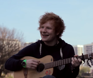 adorable, ginger, and guitar image
