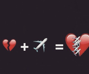 heart and travel image