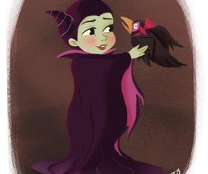 disney, maleficent, and villain image
