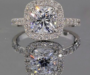 ring, diamond, and engagement image
