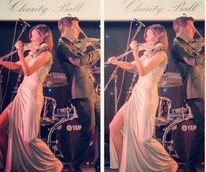 linzi stoppard, fuse violin band, and ben lee image
