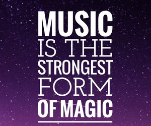 music, quote, and easel image
