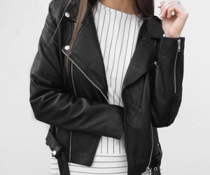 fashion, black, and jacket image